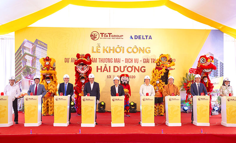 T&T Group invested 800 billion VND to build a shopping mall in Hai Duong city.